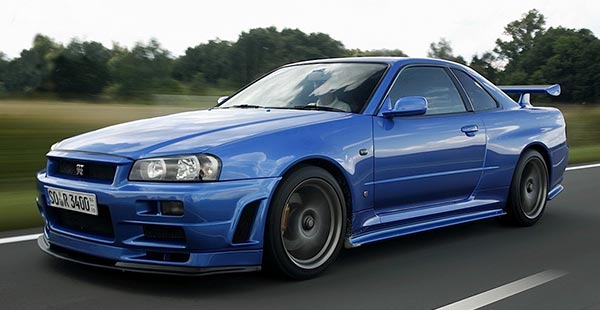 Nissan Skyline - Fast and Furious 4