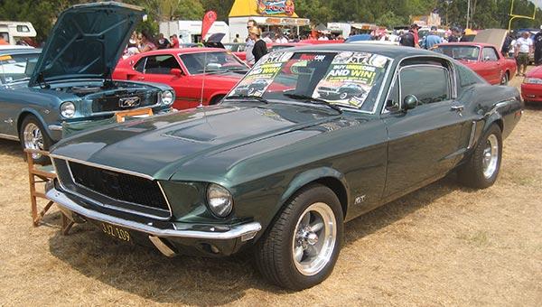 La Mustang de Steeve McQueen dans Bullitt