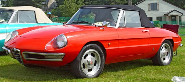 Le Lauréat - Alfa Romeo Spider 1967