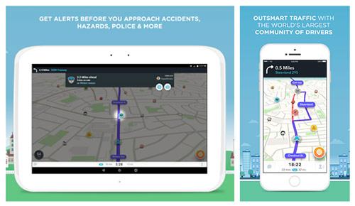 Application Mobiles Waze – Un copilote hors pair
