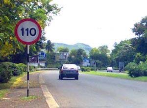 limit de vitesse