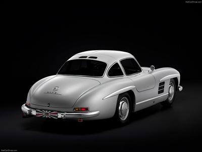 Classiques de l'automobile - Mercedes 300SL