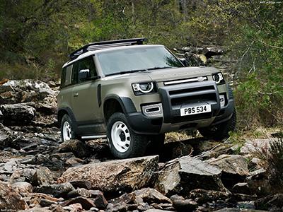 Classiques de l'automobile - Land Rover Defender