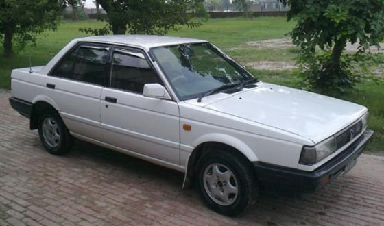 nissan sunny 1987 to 1990