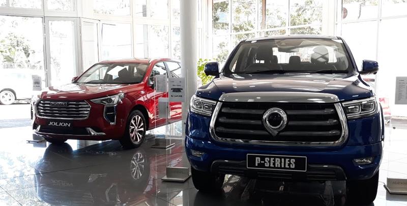 Lancement de deux nouveaux modèles, Haval Jolion et GWM P-Series