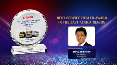 Eicher : ABC Motors récompensé pour ses bonnes performances