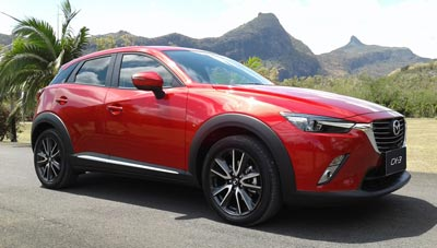 Axess Ltd, Mazda CX3