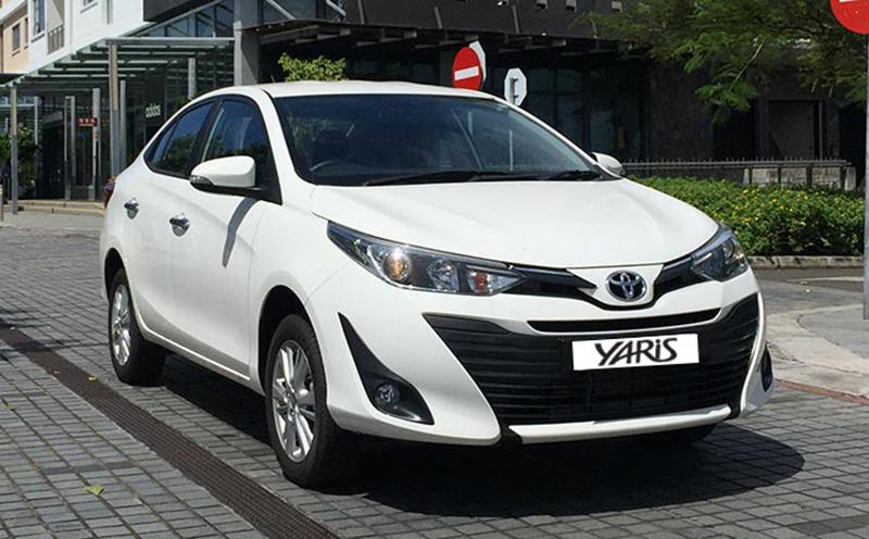 Toyota Mauritius Ltd, Toyota Yaris Sedan