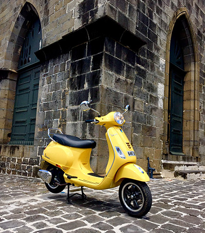 Maison de la Moto, Piaggio Vespa VXL 150